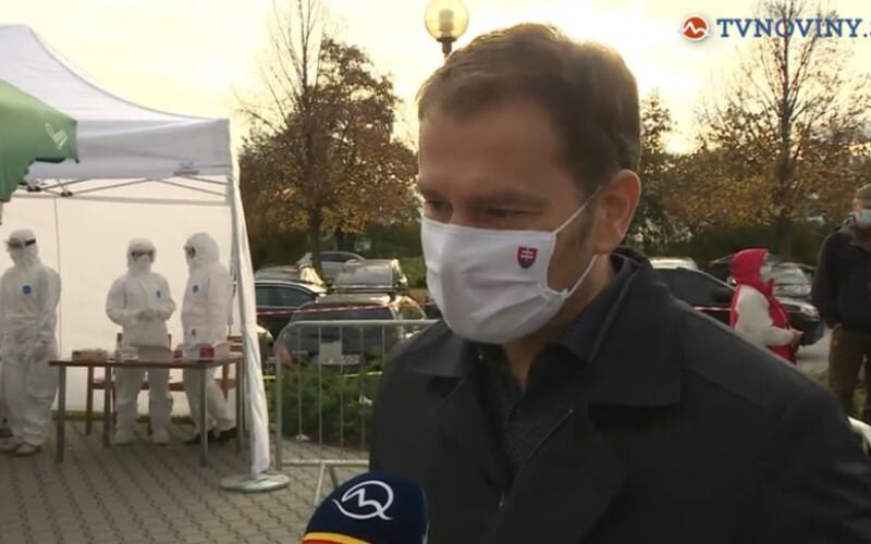 Igor Matovič vyhlásil, že druhé kolo testovania môže byť len lokálne namiesto celoštátneho.