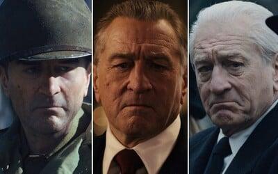 The Irishman: Ako vznikali scény, v ktorých bola na Robertovi De Nirovi použitá technológia mladnutia?