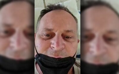 Slovák so zápalom pľúc a s covidom-19 vo videu klame, že bratislavská nemocnica je prázdna. Filmoval nesprávny priestor.
