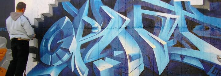 Slovenský umelec tvorí dychvyrážajúce graffiti, do jeho portfólia patrí aj bowlingová hala