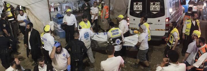Během židovských oslav v Izraeli zemřely desítky lidí v tlačenici, z místa museli evakuovat statisíce lidí