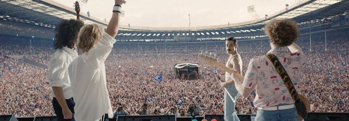 Bohemian Rhapsody ukáže na Blu-ray celý 22 minútový záznam koncertu Live Aid s Ramim Malekom
