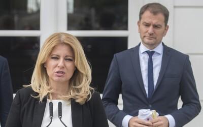 Čaputová je stále najdôveryhodnejšou političkou, Matovič sa rekordne prepadol.