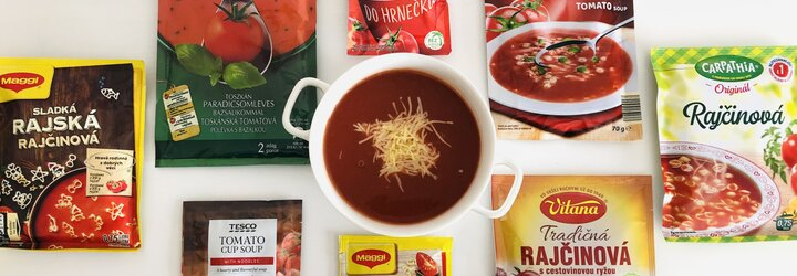 Test 8 instantných rajčinových polievok: môžu nimi študenti nahradiť domácu stravu alebo je to len glutamanové zlo?
