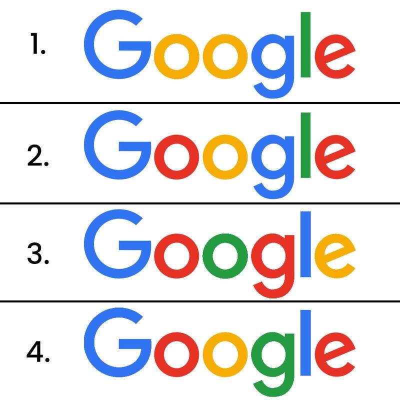 Ktorá z verzií loga Googlu je správna?