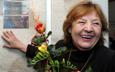 Vo veku 85 rokov zomrela herečka Eva Krížiková. Bola členkou činohry SND, stvárnila aj desiatky postáv vo filmoch alebo dabingu.