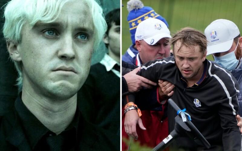 Herec Tom Felton z Harryho Pottera skolaboval na golfovom turnaji celebrít. Fanúšikom hlási, že je v poriadku.