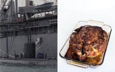 Veliteľ jadrovej ponorky prišiel do práce opitý a s grilovaným kurčaťom. Mal na starosti bomby 30-krát silnejšie ako Hirošima.