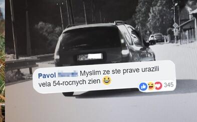 Babička Anna sa po Prievidzi valila s 3,3 promile za volantom. Slováci však policajtov kritizovali za jej označenie