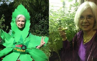 Babička fajčí marihuanu viac ako 50 rokov a nevie si ju vynachváliť. Obľubuje sušienky aj olej a ľudí by chcela viac vzdelávať