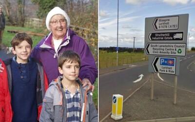 Babička sa mala odviezť 10 kilometrov ku lekárovi, ale po 8 hodinách a 480 kilometroch skončila v Škótsku. Musela ju prísť vyzdvihnúť dcéra