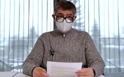 Babiš: Dnes už chřipka ani neexistuje, už je jen covid