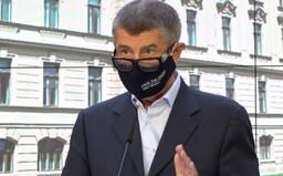 Babiš: Máme rezervu 75 milionů roušek, zásoby máme na 2 měsíce pro celé Česko