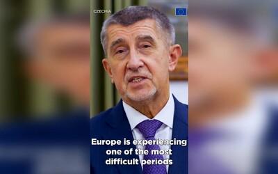 Babiš s Merkelovou nebo Macronem podporují Tým Europa. Ve videu na Twitteru všem vzkazují, ať se semkneme v boji s Covidem