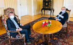Babiš: Zeman přijme nového ministra zdravotnictví v úterý, ve čtvrtek by mohl být jmenován do funkce