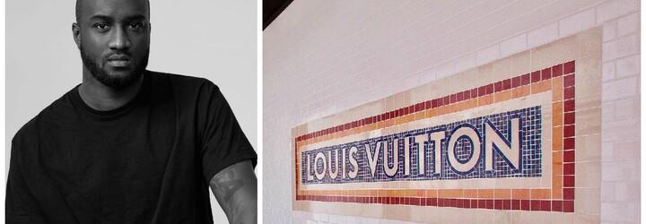Virgil Abloh kráčí na módní Olymp. V Louis Vuitton mu svěřili mužskou sekci