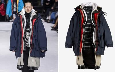 Balenciaga je na zimu připravena díky kabátu se 7 vrstvami. Chce za něj 167 tisíc korun