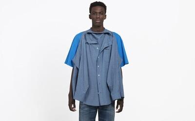 Balenciaga našila košili na tričko a chce za to 29 000 Kč