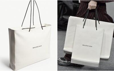 Balenciaga představila nákupní tašku, za kterou chce 48 600 Kč