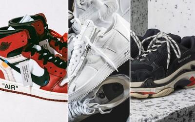 Balenciaga, překvapivé spolupráce či výroční provedení ikonických modelů od Nike. Které tenisky se staly nejoblíbenějšími během roku 2017?