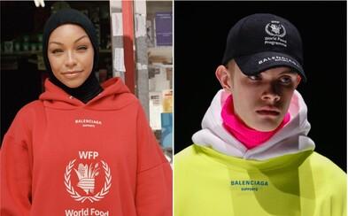 Balenciaga spustila predaj kolekcie s humanitárnou organizáciou, ktorá je schopná zachraňovať životy po celom svete