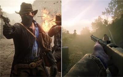 Bankové lúpeže, krásna príroda aj pohľad z prvej osoby vo vynikajúcom traileri pre Red Dead Redemption 2