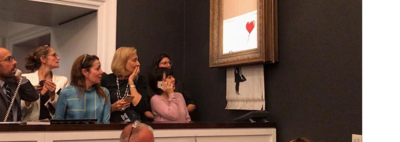 Banksy odhalil, ako zoskartoval obraz za 1,2 milióna eur. Piatkový prank zvládol vďaka špeciálne upravenému rámu