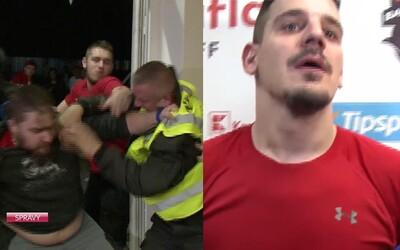 Banskobystrickí fanúšikovia sa pobili pred Radivojevičom a už aj dostali doživotný zákaz vstupu na štadión. Čaká ich trestné oznámenie