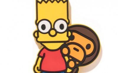 BAPE s veselou kolekciou so Simpsonovcami