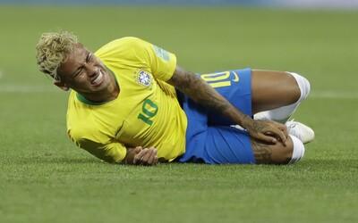 Bar bude rozdávať alkohol zadarmo vždy, keď Neymar proti Srbsku spadne. Z futbalistu si už uťahujú aj domáci