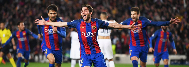 Barcelone sa proti PSG podaril comeback storočia. Internet zareagoval vtipnými obrázkami a videami