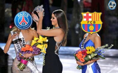 Barceloně se proti PSG podařil obrat století. Internet zareagoval vtipnými obrázky a videy