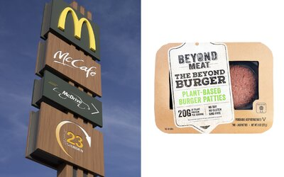 Bašta hovädzieho McDonald's testuje vegánske burgre