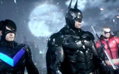 Batman v novém traileru na Arkham Knight bojuje se zločinem po boku Robina, Catwoman a Nightwinga!