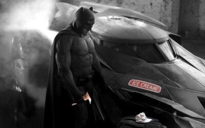 Battfleck, smutný Batman je nový hit internetu