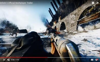Battlefield V bude mít Battle Royale režim! Hra ukázala gameplay s epickou destrukcí a krvavou 2. světovou válkou