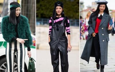 Baví tě pánské prvky v kombinaci s aktuálními trendy? Street style blogerky a návrhářky ze Singapuru si zamiluješ