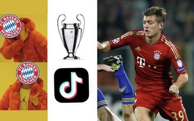Bayern Mnichov restartuje Bundesligu s novým sponzorem. Za partnerství s TikTokem se mu fanoušci smějí