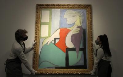 Ikonický obraz Pabla Picassa sa vydražil za viac ako 103 miliónov dolárov. Dražba trvala len pár minút.
