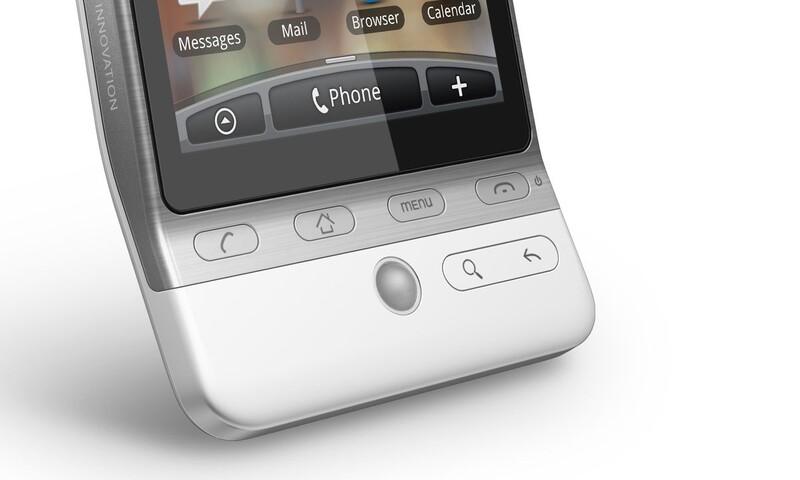 Jeden z prvních všeobecně populárních smartphonů Android s unikátním designem.