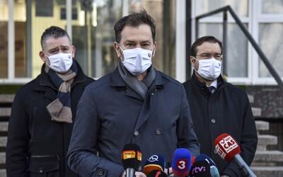 Matovič nezvláda pandémiu, myslí si viac než 60 % opýtaných Slovákov.