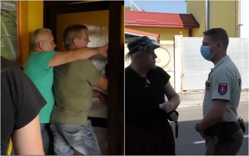 Antivaxeri na severe Slovenska zaútočili na očkovacie centrá. Zasahovať musela aj polícia.