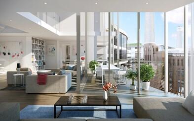 Bear Grylls se stal majitelem přepychového bytu v superluxusním londýnském komplexu