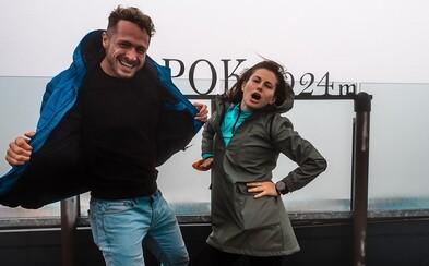 Becca a Milan Bez Mapy si zmerali sily: Kto dorazil na Chopok prvý?