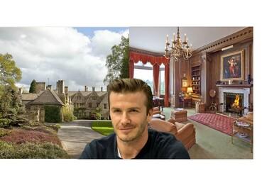 Beckhamovi se chystají investovat do nejdražší nemovitosti v Anglii. Stane se 27milionový dům novým Beckinghamským palácem?