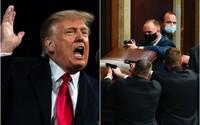 Během demonstrací ve Washingtonu zemřeli 4 lidé. Facebook, Instagram a Twitter zablokovaly Trumpa, šířil lži