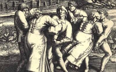 Během tanečního moru v roce 1518 zaplnily ulice Štrasburku stovky lidí, kteří tančili, dokud nepadli mrtví k zemi