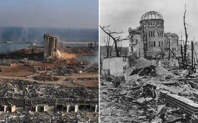 Bejrút vs. Hirošima. V epicentru výbuchů přežila pokaždé jediná budova, stavěli ji Češi