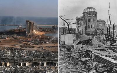 Bejrút vs. Hirošima. V epicentre výbuchov prežila zakaždým jediná budova, stavali ju Česi