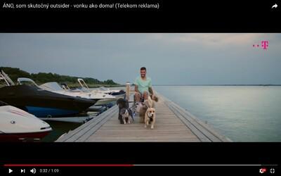 Bekim sa v novej reklame pre Telekom vozí dunajskou hrádzou so psím záprahom. Vysvetľuje, že outsider je ten, kto sa nechce nudiť doma